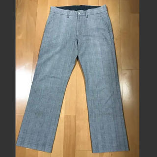 ハウナチュラル(HOW NATURAL?)のMen's checkered pants(スラックス)