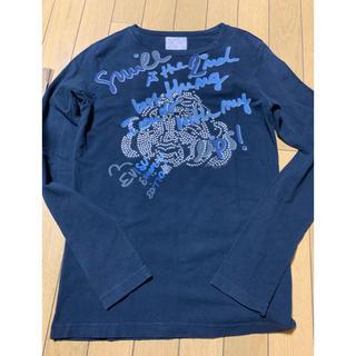 エビス(EVISU)のEVIS(エヴィス)イタリア製 メタルエヴィスロングTシャツ(検.リーバイス(Tシャツ/カットソー(七分/長袖))