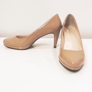 コールハーン(Cole Haan)の新品同様 コールハーン  COLE HAAN  36 美脚パンプス ヒール靴(ハイヒール/パンプス)
