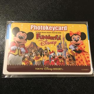 ディズニー(Disney)のファンダフルディズニー フォトキーカード(その他)