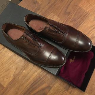 アレンエドモンズ(Allen Edmonds)の【未使用品】アレンエドモンズ パークアベニュー 革靴 ブラウン 茶色 7D (ドレス/ビジネス)