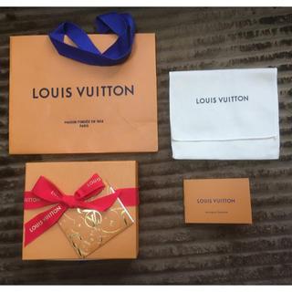 LOUIS VUITTON - ルイヴィトン ボックス ショップ袋セット