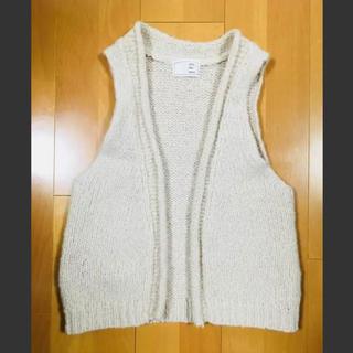 ノンブルアンベール(nombre impair)のnombre impair wool vest(ベスト/ジレ)