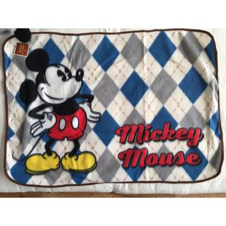 ディズニー(Disney)のDisney / ディズニー   アーガイル柄ブランケット(おくるみ/ブランケット)