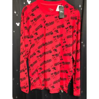 ディズニー(Disney)の新品 ミッキーマウス ロンT M レディース (Tシャツ(長袖/七分))