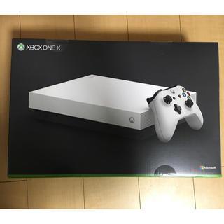 エックスボックス(Xbox)のXbox One ホワイト スペシャルエディション 新品!(家庭用ゲーム本体)
