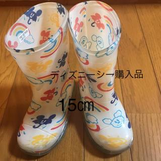 ディズニー(Disney)のDisney  長靴 15㎝(長靴/レインシューズ)