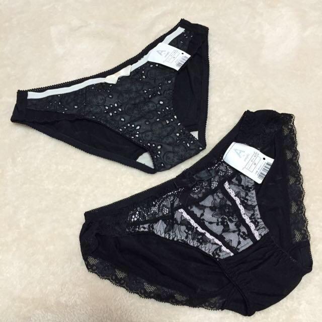 AMPHI(アンフィ)のAmphi 新品 ショーツ 黒 レディースのルームウェア/パジャマ(ルームウェア)の商品写真