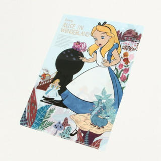 Disney - 不思議の国のアリス クリア ファイル