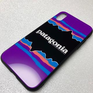 パタゴニア(patagonia)の【数量限定】patagonia パタゴニア iPhoneケース スマホケース 紫(iPhoneケース)