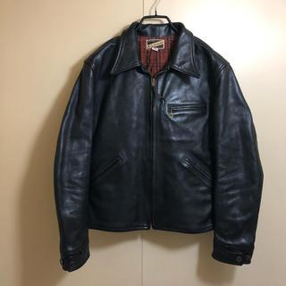 ザリアルマッコイズ(THE REAL McCOY'S)の良品 旧リアルマッコイズ ニュージーランド製 スポーツジャケット 42(レザージャケット)