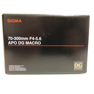 シグマ(SIGMA)のSIGMA 70-300mm APO DG MACRO Kマウント ペンタックス(レンズ(ズーム))