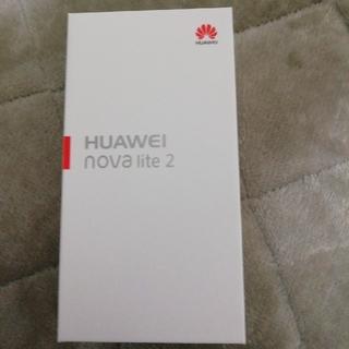 アンドロイド(ANDROID)の新品 HUAWEI nova lite2(スマートフォン本体)