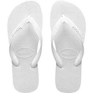 ハワイアナス(havaianas)の新品★ハワイアナス ビーチサンダル ホワイト 27cm(ビーチサンダル)