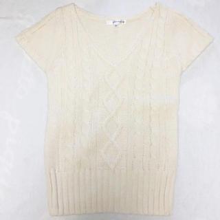 クランプリュス(KLEIN PLUS)の❣⃛新品 ❁半袖セーター、ニット❁(ニット/セーター)