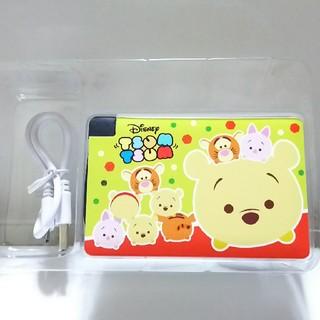 ディズニー(Disney)のツムツム モバイルバッテリー(バッテリー/充電器)