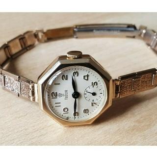 チュードル(Tudor)のロレックスチュードル ヴィンテージ腕時計 レディース ROLEX TUDOR(腕時計)