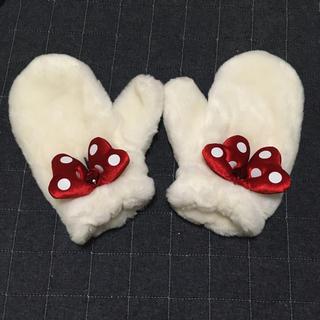 ディズニー(Disney)のミニー手袋✨ふわふわ美品💖(手袋)