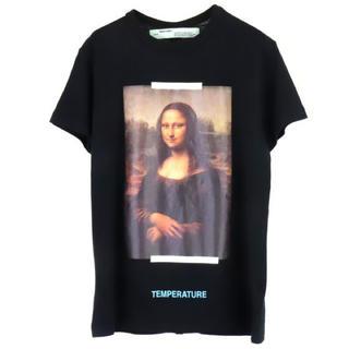 オフホワイト(OFF-WHITE)の新品☆OFF-WHITE☆【M/BLACK】モナリザ  Tシャツ(Tシャツ/カットソー(半袖/袖なし))