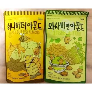 トムズ(TOMS)の韓国 ハニーバターアーモンド&わさびアーモンド(菓子/デザート)
