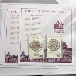 東京駅 100周年 記念Suica 2枚セット 台紙付き(鉄道)