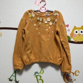 セラフ(Seraph)のseraphセラフ☆お花飾りニットカットソー120(Tシャツ/カットソー)