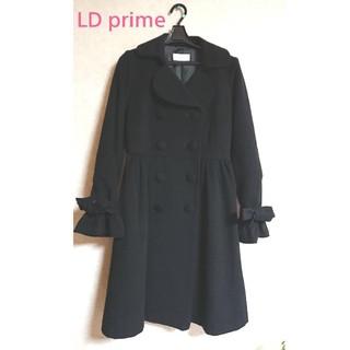 エルディープライム(LD prime)のLD prime コート 黒 ブラック 可愛い(ピーコート)