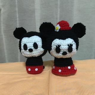 ディズニー(Disney)のディズニー、ミッキー&ミニー編みぐるみ(あみぐるみ)