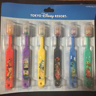 ディズニー(Disney)のディズニー 歯ブラシセット(歯ブラシ/歯みがき用品)
