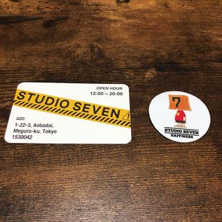 サンダイメジェイソウルブラザーズ(三代目 J Soul Brothers)のstudio seven 即購入可(ステッカー(シール))
