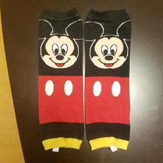 ディズニー(Disney)のディズニーリゾート ミッキーマウスレッグウォーマー(レッグウォーマー)