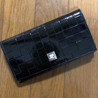 Courreges - クレージュ 長財布 ブラック