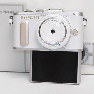 OLYMPUS - 最安値挑戦!★未使用品 PEN E-PL8★おしゃれなホワイト★Wifi搭載