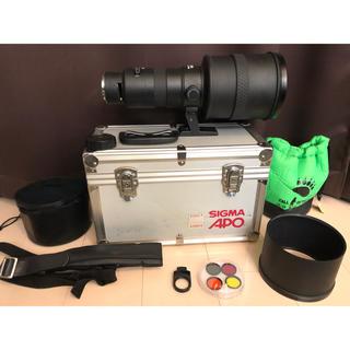 シグマ(SIGMA)のシグマ sigma APO 500mm F4.5 ZEN キャノン canon(レンズ(単焦点))