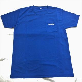 ガマカツ(がまかつ)のがまかつ Tシャツ 速乾タイプ ブルー Lサイズ(ウエア)