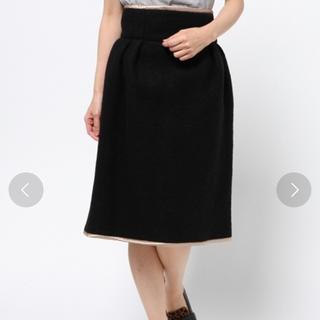 シアタープロダクツ(THEATRE PRODUCTS)のボアダブルフェイススカート(ひざ丈スカート)