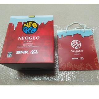 ネオジオ(NEOGEO)の《新品未開封》NEOGEO mini  ネオジオミニ クリスマス限定版(家庭用ゲーム本体)