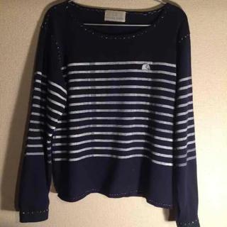 ケイスケカンダ(keisuke kanda)の本日限定値下げ keisuke kanda ❁ 手刷りのボーダーT(Tシャツ(長袖/七分))