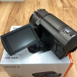 ソニー(SONY)のソニー SONY ビデオカメラ FDR-AX45 ブロンズブラウン(ビデオカメラ)