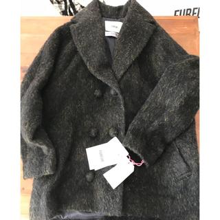 ファーファー(fur fur)の【FURFUR】TEXMODA ダブルボタン ピーコート(ピーコート)