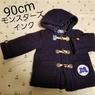 ディズニー(Disney)のダッフルコート 90cm 男女兼用 フード付き 防寒着 ジャケット キルティング(ジャケット/上着)