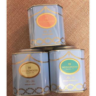 ウェッジウッド❤︎紅茶 3缶セット(茶)