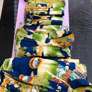 男の子着物綿入りベスト付き3点セット(和服/着物)
