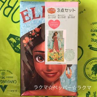 ディズニー(Disney)のディズニープリンセス エレナ ふとんカバー 他 3点セット(シーツ/カバー)