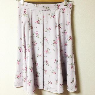 Debut de Fiore♡8枚はぎフレアプリントスカート