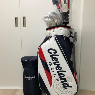 クリーブランドゴルフ(Cleveland Golf)の新品 クリーブランド ゴルフ フルセット 11本組 キャディバッグ カーボン(クラブ)