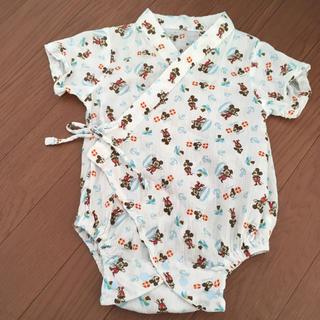 ディズニー(Disney)のミッキー甚平 60-70(甚平/浴衣)