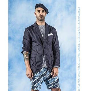 エンジニアードガーメンツ(Engineered Garments)のEngineered Garments Baker Jacket ダークネイビー(テーラードジャケット)