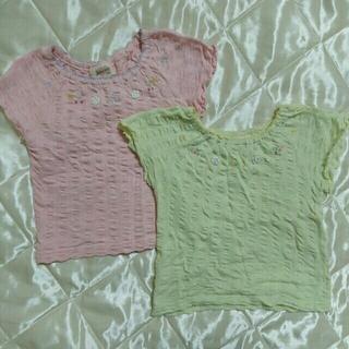スーリー(Souris)のsouris♡100cm パステルカラーTシャツ(Tシャツ/カットソー)