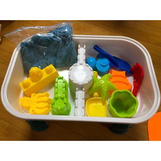 キネティックス(kinetics)のキネティックサンド  テーブル  砂つき(知育玩具)